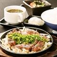 鹿児島黒毛和牛のタンステーキ1580円(税込)