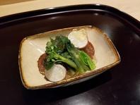 飯蛸と山菜