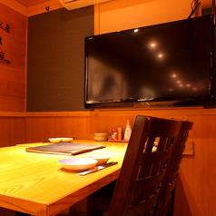 【個室】2名様からご利用頂ける個室席には大型のテレビも完備しております!スポーツ観戦などお楽しみ頂けます!プライベート利用も我孫子店にお任せ☆女子会やママ会は勿論デートで居酒屋は如何でしょうか?