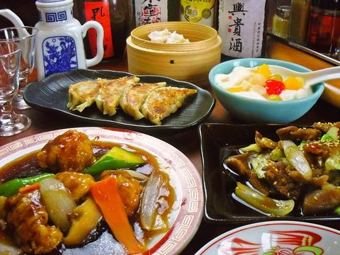 地元に愛され40年。手ごろな価格で美味しくボリュームある中華料理を楽しめる。