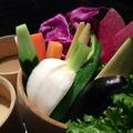 料理メニュー写真旬野菜の京風バーニャカウダ