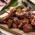 料理メニュー写真ハワイアンBBQリブグリル