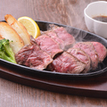 料理メニュー写真八銭特製ステーキ