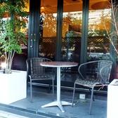 カフェ利用にぴったりのテラス席♪