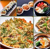 【本格的な韓国料理と豊富なメニュー】