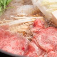 黒毛和牛すき焼き食べ放題3500円~