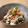 料理メニュー写真トマトとアボカドのサラダ