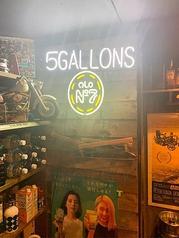 5GALLONSの写真