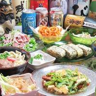 泡盛にぴったりの料理!本場の沖縄料理を堪能♪
