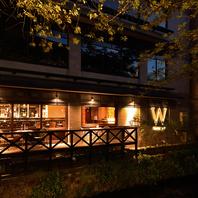 【テラス有】雰囲気抜群のRestauran&Bar空間