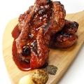 料理メニュー写真豚スペアリブのオーブン焼き