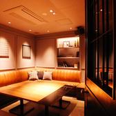 人気のソファー完全個室☆プライベート空間で楽しいひとときを・・・♪