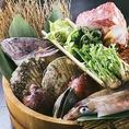 【拘りの仕入れ】三陸、秋田から直送!ご存じだとは思いますが三陸は魚場が本当に豊かです。魚介が本当に旨い!港から、漁師さんから直接仕入れたゑんの魚は鮮度が格段に違います!