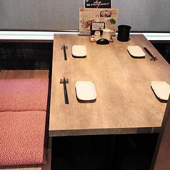 【テーブル席】2~4名様の半個室です♪