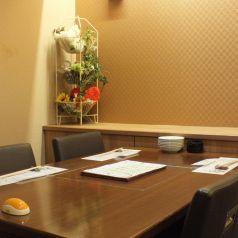 【3階】4名様のテーブル席です。