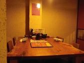 4名様用の個室は3室ございます。