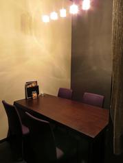 テーブル個室です!