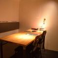 【1F】テーブル席(半個室)