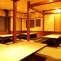 【西新駅徒歩 0分】2階は掘りごたつの完全個室です。