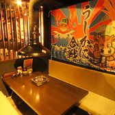 おいしいお肉とカニとお魚のお店 うしかに合戦 大阪かに源グループの雰囲気2