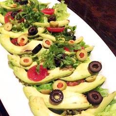 料理メニュー写真アボカドのサラダカルパッチョ
