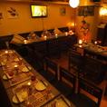 歓送迎会に!メインフロア貸切OK!!新宿での貸切宴会に最適なフロア席をご用意しております!