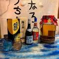 沖縄料理屋ならではのドリンクも勢揃い。名物『ハブ酒』も!!