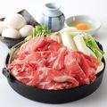 料理メニュー写真福島牛 すき焼き(単品1人前)