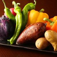 京都の契約農家からの新鮮野菜を使用