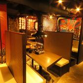 おいしいお肉とカニとお魚のお店 うしかに合戦 大阪かに源グループの雰囲気3