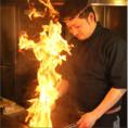 【おすすめ3】炭火で炙る釜飯の具は絶品◎