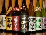 日本酒も豊富に120種類以上ご用意しております!中には十四代等珍しいプレミアムなお酒も…