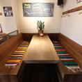 8名テーブル席は1卓ご用意がございます。