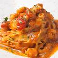 料理メニュー写真【CREAM BASE】甘海老の濃厚トマトクリームソース