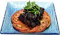 料理メニュー写真豚スペアリブの黒酢煮