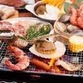 【ビアガーデン×BBQ】朝市マルシェのビアガーデンで炉端焼き肉をご堪能下さい!!