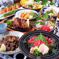 鳥亭のコース料理はボリュームがすごい!