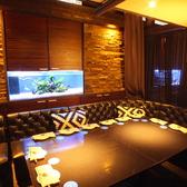 シックな雰囲気の個室です。8名様までご利用可能です。合コンや女子会に【梅田 茶屋町 個室 ソファー 宴会 合コン コンパ 女子会 誕生日 記念日 パーティー 梅酒】