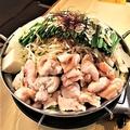 料理メニュー写真もつ鍋 〈しょうゆ味 or ピリ辛チゲ味〉