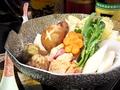 料理メニュー写真特製水炊き (一人鍋)