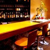 おひとり様でもご利用いただけるよう、カウンター席も完備。サク飯、サク飲みするならこのお席♪女性のお客様もお気軽にどうぞ。