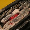 備長炭で焼き上げる本格炭火焼の味をお愉しみください。