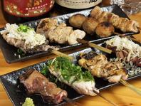 おまかせ串盛り/Chef's recommendations