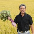 【地産地消のこだわり】清水農園さんからは野菜を。