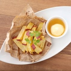 料理メニュー写真さつま芋のハニースティック