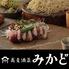 鮮魚と鴨 酒 蕎麦 みかどのロゴ