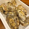 旬の牡蠣仕入れています!普段使いから年に一度の大宴会まで、どんなシーンも宴にお任せ!