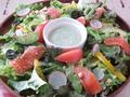 料理メニュー写真アボカド&スモークサーモンのサラダ