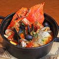 料理メニュー写真たっぷり魚介のナポリ風ブイヤベース