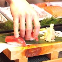 職人が握るお寿司をご堪能ください♪